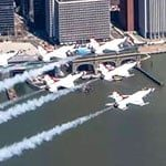 BREATHTAKING PHOTOS: The Flyover Salute over the Tristate area