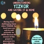 Understanding Yizkor and saying it at home