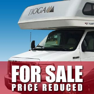 RV For Sale: Price Reduced