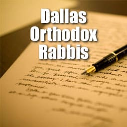 Letter to Community from Dallas Orthodox Rabbis