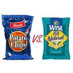 Chareidi Potato Chips Versus Regular Chips