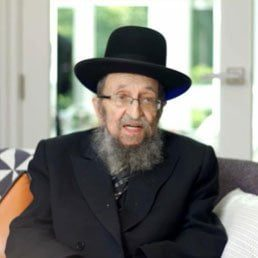 A Message from HaRav Shmuel Kamenetsky