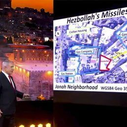 Watch: Israel Says Hezbollah Has 'Arms Depot' In Beirut