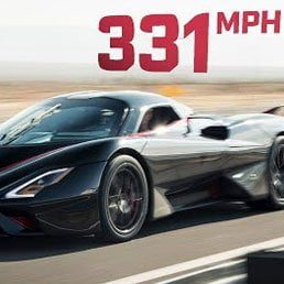Watch: World's Fastest Production Car; Goes 311 MPH