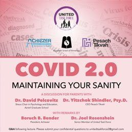 COVID 2.0: Maintaining Your Sanity – A Special Webinar