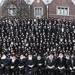 What Will Happen to Historic Shluchim Photo as Chabad Kinus Goes Virtual?