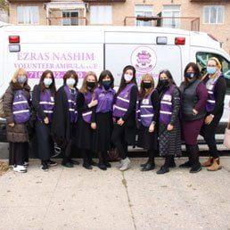 At Long Last, Ezras Nashim Debuts First State of The Art Ambulance
