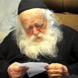 Coronavirus Outbreak In House Of Rabbi Kanievsky