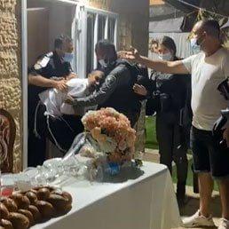 Video: Police Brutally Break Up Givat Ze'ev Private Wedding, 2 Injured