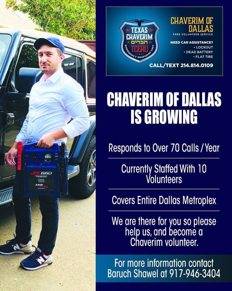 Chaverim of Dallas is Growing 1