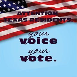 Attention Texas Residents: GOTV
