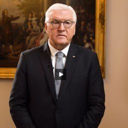 German President Frank-Walter Steinmeyer Addresses Israeli Commemoration Of Kristallnacht