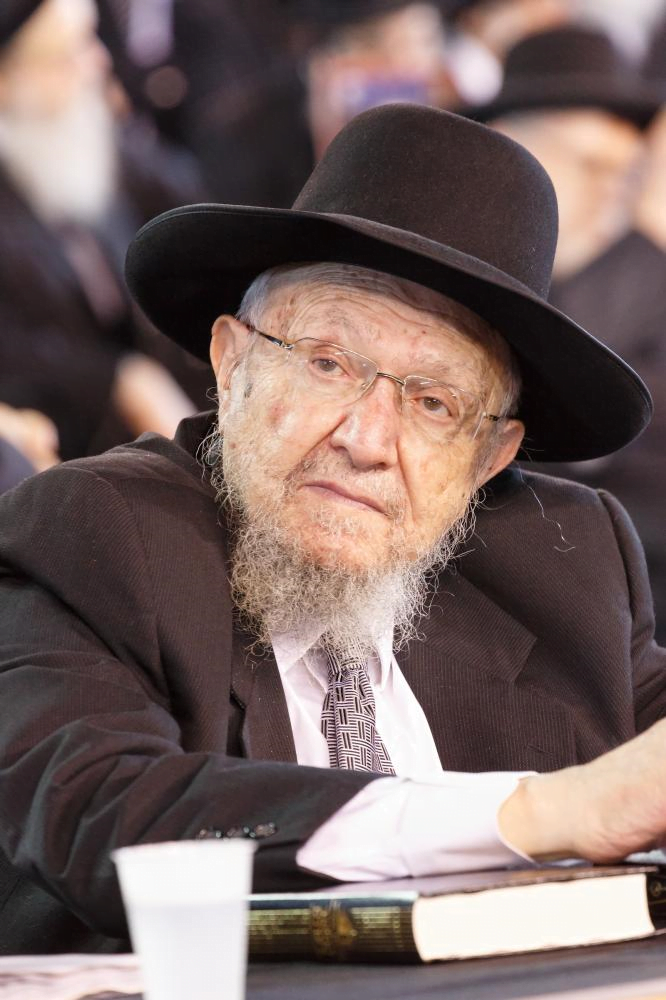 Watch: At The Levaya Of Harav Dovid Feinstein In Yerushalayim
