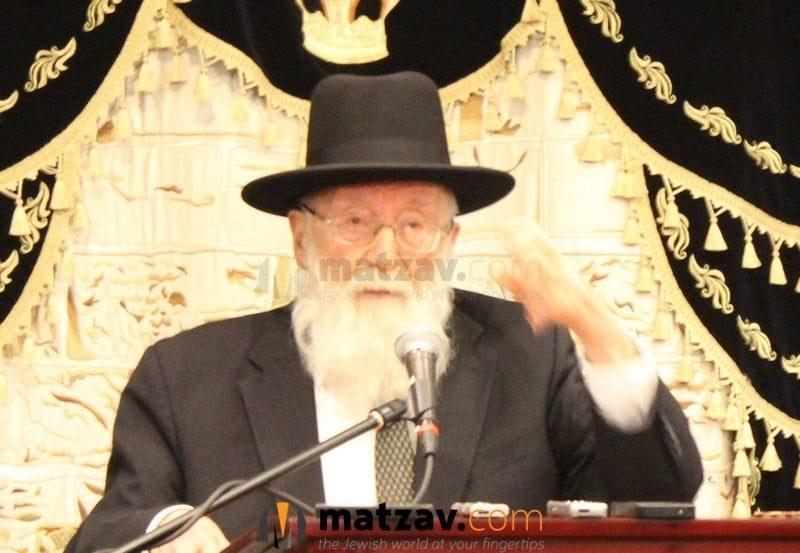 Passing Of Rav Gedalia Dov Schwartz Of Chicago 6
