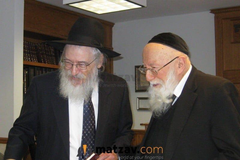 Passing Of Rav Gedalia Dov Schwartz Of Chicago 3