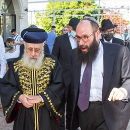 Photos: Israel's Chief Rabbi Makes History With Visit To UAE