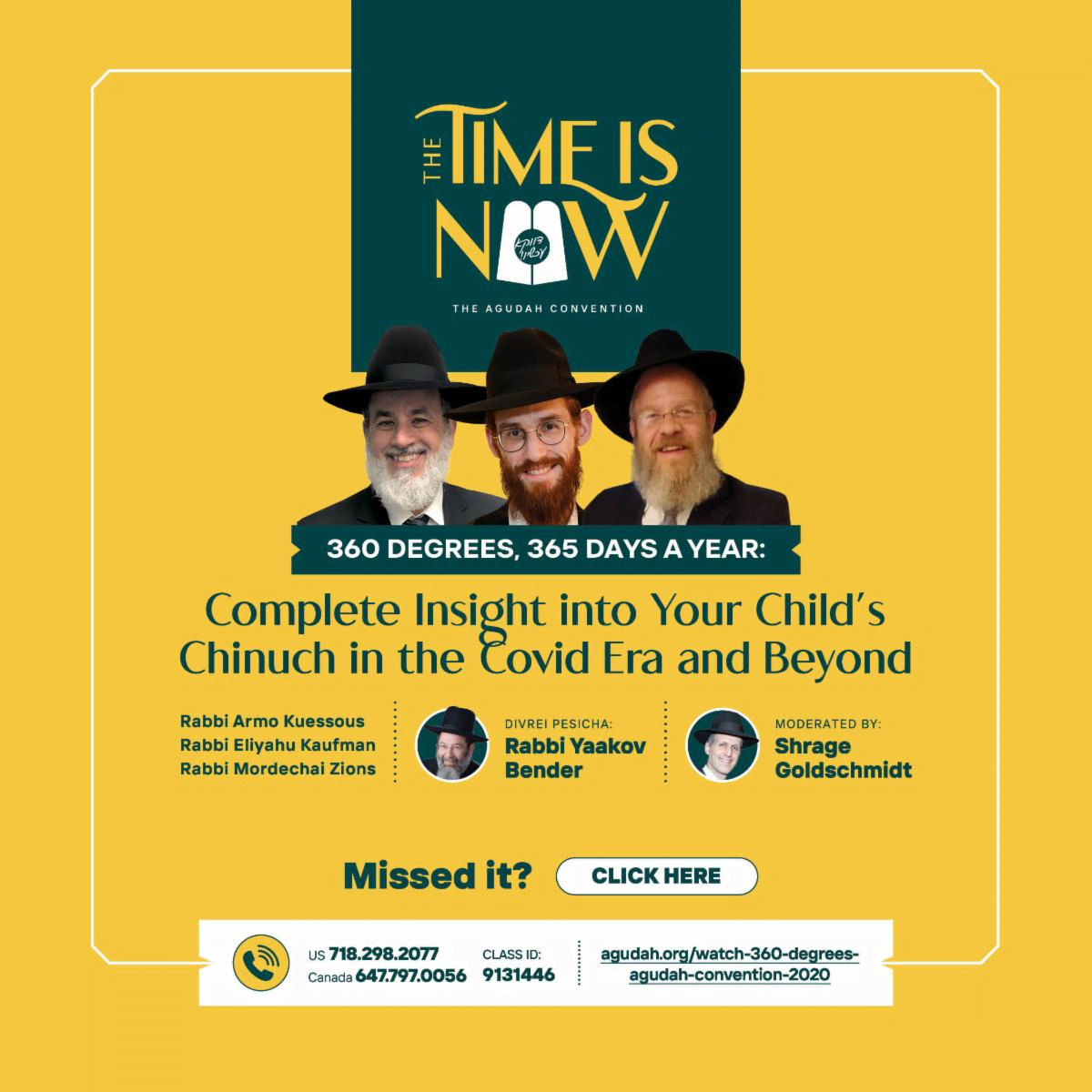 3 Great Opportunities From Agudath Israel of America 3