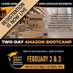 Amazon Bootcamp Registration is Now Live
