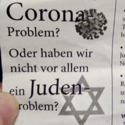 Anti-Semitic Flyer In German Tram Blames Jews For The COVID Pandemic