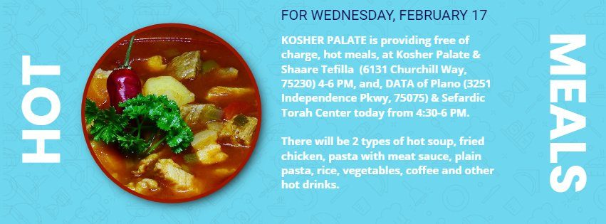 And Again...Hot Meals from Kosher Palate 1