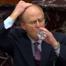 Why Trump Lawyer David Schoen Covered His Head With Every Sip Of Water