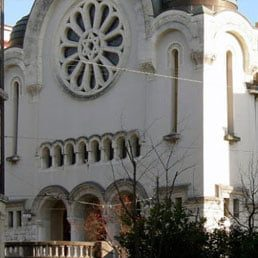 Pig Meat Left Outside 2 Swiss Synagogues
