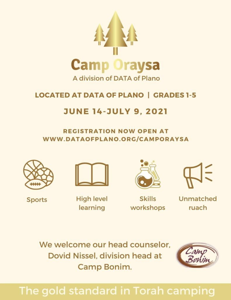Camp Oraysa: A Division of DATA of Plano 1