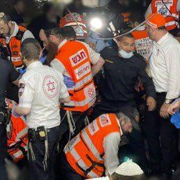 HORRIFIC TRAGEDY IN MERON: 45 Dead After Stampede At Kever Rabbi Shimon bar Yochai; More Than 100 Injured