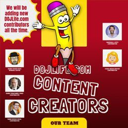 Welcome to our newest DOJLife.com Content Creators