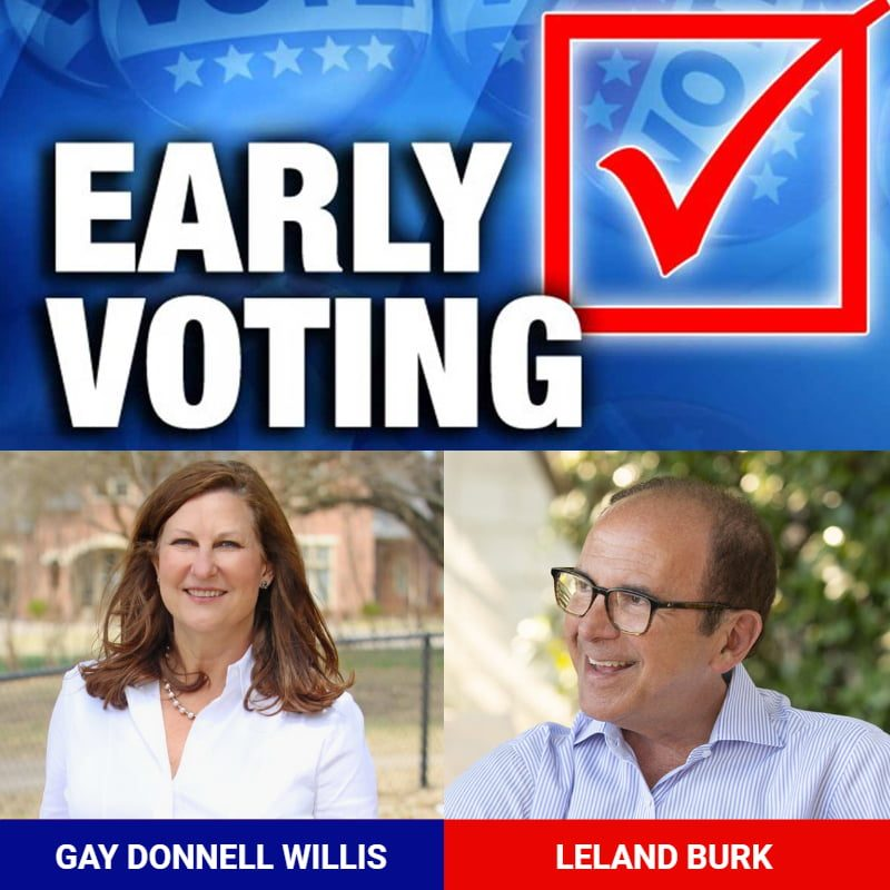 Early Voting District 13 Has Begun 1
