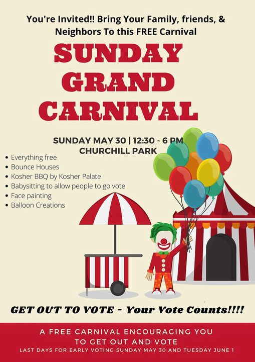 Sunday, Get-Out-the-Vote Grand Carnival 1