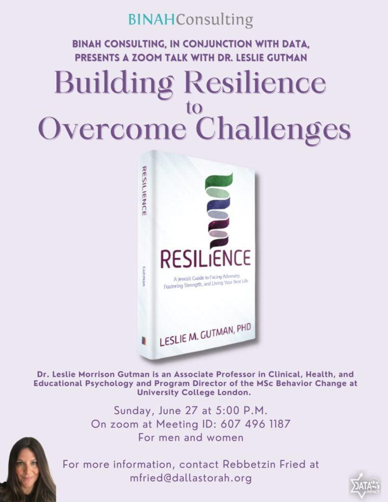 Building Resilience to Overcome Challenges 1