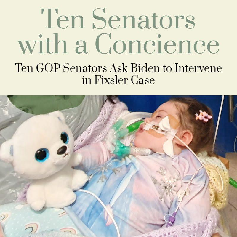 BREAKING: Ten GOP Senators Ask Biden to Intervene in Fixsler Case 1