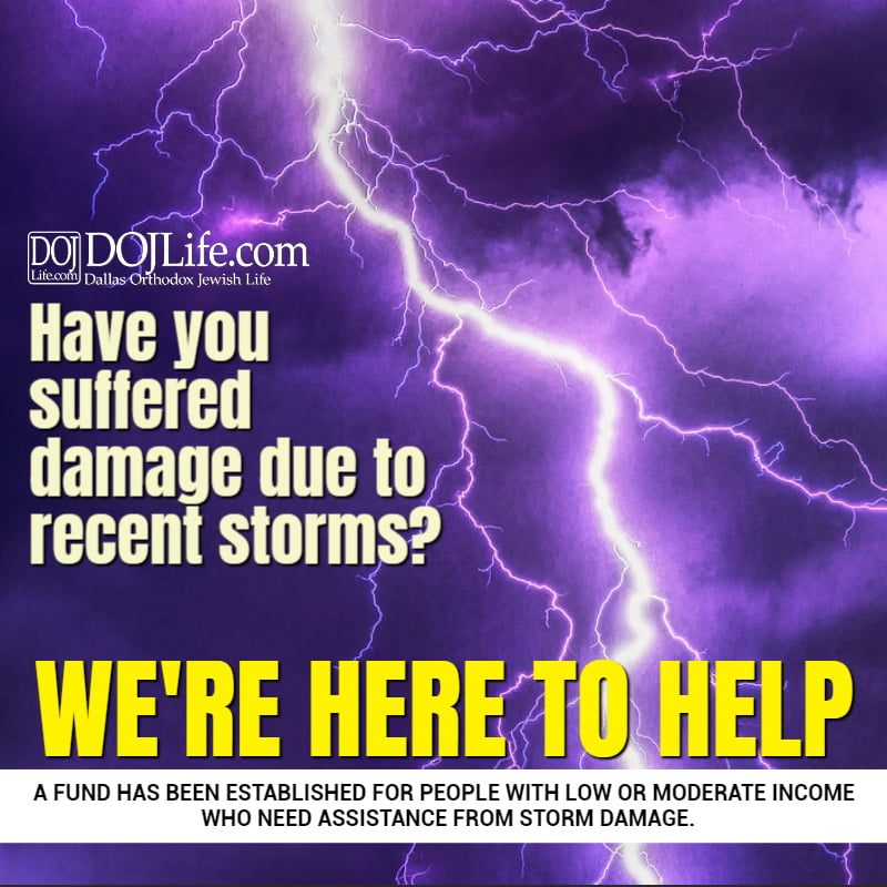 Have you suffered damage due to recent storms? 1