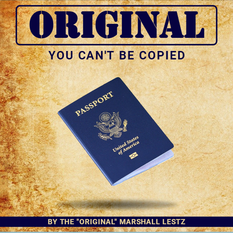 Rebuilder Series: Original: You Can't Be Copied by Marshall Lestz
