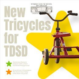 New Tricycles for TDSD