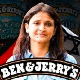 ANYONE SURPRISED? Ben & Jerry's Board Chairwoman:  Pro-Terror, Anti-Israel Activist