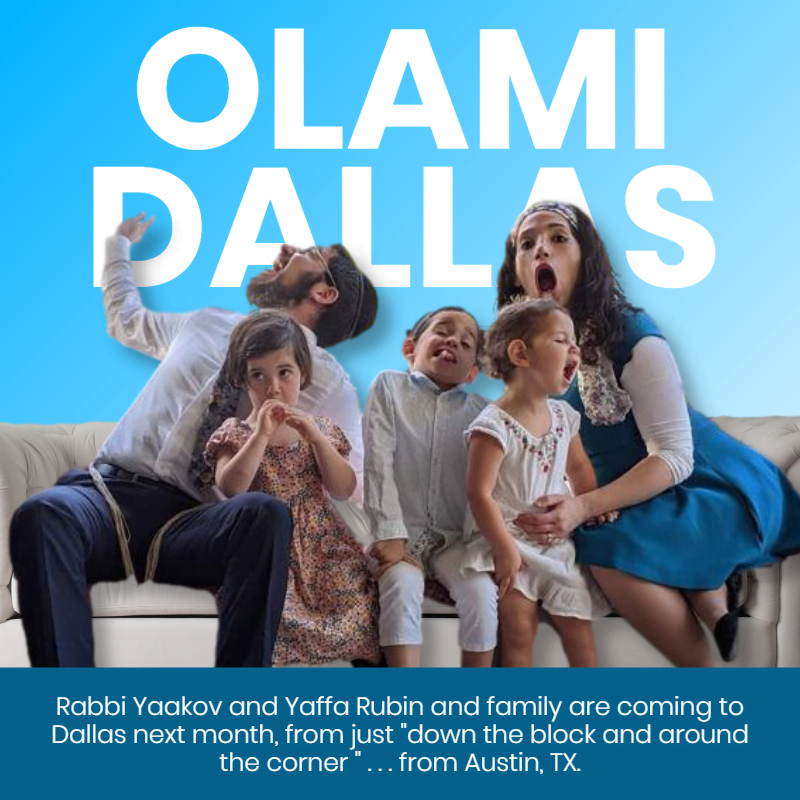 Olami Dallas - Exciting Program Coming in August