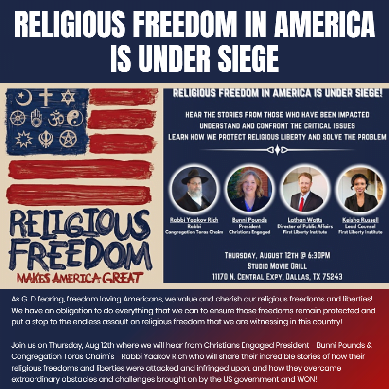 Religious Freedom in America is Under Siege - The Truth, Facts & Realities