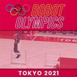 Watch: Basketball Robot Steals Show At Tokyo Olympics