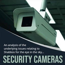 An Analysis of the Underlying Issues Relating to Shabbos for the Eye in the Sky… Security Cameras