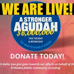 Amazing! We Reached 50% Nationally. 72% in Dallas. Join the Dallas Community in Supporting a Stronger Agudah.