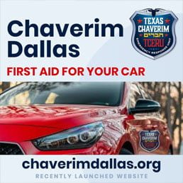 Chaverim Dallas: First Aid For Your Car