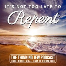 The Thinking Jew Podcast: Ep. 44 It's Not Too Late To Repent. By Rabbi Moshe Segal