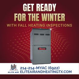 Get Ready for the Winter with Fall Heating Inspections from Elite Air & Heating