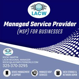 Managed Service Provider (MSP) for Businesses: LACW