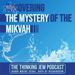 The Thinking Jew Podcast: Ep. 49 Uncovering the Mystery of the Mikvah. By Rabbi Moshe Segal